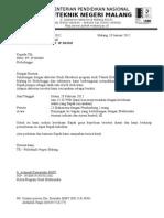 Surat Kunjungan Industri Ke Panasonic-2011