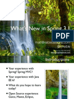 Whats New in Spring 3.1