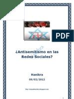 Antisemitismo en Las Redes Sociales