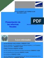 Reformas Fiscales