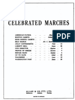 Celebrated Marches for Piano