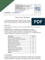 0852edital Mestrado Saude e Sociedade