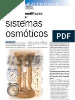 Liberación modificada de fármacos - sistemas osmóticos
