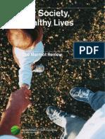 Fair Society Healthy Lives