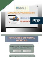 Funciones en visual basic 6.0