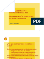 Entrenamiento Lube Analyst 2a Parte