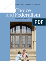 Choice and Federalism