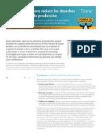 Cuatro Pasos Para Reducir Los Desechos y Los Reprocesos en La Produccin