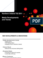 NI Media Developments and Trends 2011