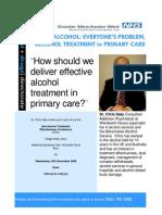 Alcohol Flyer December 2008