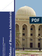 MBA Student Guide 0708