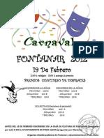 CARNAVAL FONTANAR 2012