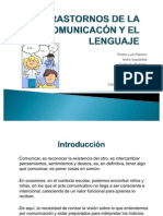 TRASTORNOS DE LA COMUNICACÓN Y EL LENGUAJE