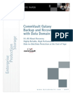 Data Domain CommVault Whitepaper