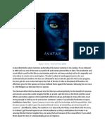 Unit 2 - Avatar - Film Review