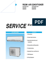 Samsung Mh080fxca4a Service Manual Air Conditioning