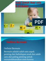 Terapi Bermain Untuk Bayi