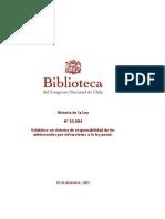 Historia de La Ley 20084