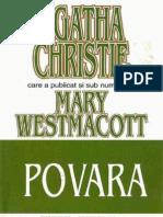 75213306 Agatha Christie Mary Westmacott Povara
