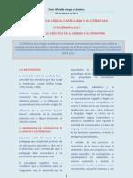 DIDÁCTICA DE LA LENGUA Y LA LITERATURA