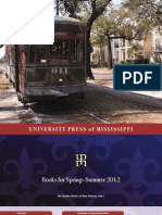 University Press of Mississippi Spring-Summer 2012 Catalog