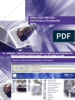 http://CDI-MECON - Servicios y Productos Web