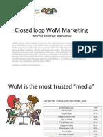 Closed Loop WoM Marketing-Slides