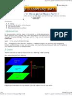 Isometric 'n' Hexagonal Maps Part II