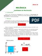 Física - Aula 10 - Mecânica - Impulso e quantidade de movimento