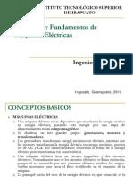 Principios y Fundamentos de Máquinas Eléctricas