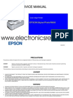 Epson Stylus Photo R800 Part1
