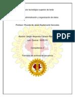 Formatos de Archivos de Secuencia