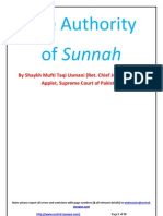 Authority of Sunnah- Extract