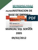 Manual SQL 2005