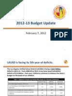 Lausd Budget