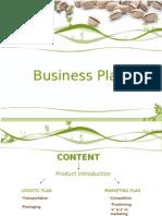 Business Plan of Pistachio