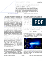 S. K. P. Tripathi, P. M. Bellan and G. S. Yun- Observation of Kinetic Plasma Jets in a Coronal-Loop Simulation Experiment