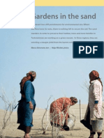 Gardens in the Sand. the Desert Has Stiff Punishments for En