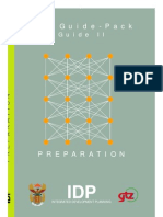 IDP Integrated Development Planning Guide Pack. Guide II Pre