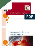 Introduccion a La Embriologia