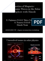 D. Fujimura and S. Tsuneta- Properties of Magneto- Hydrodynamic Waves in the Solar Photosphere with Hinode
