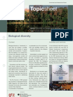 Environment and Management of Natural Resources. Towards Sus
