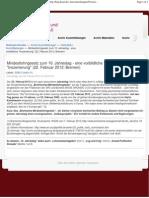 2012-02-22 BIAJ - 10ter Jahrestag Hartz IV - Inszenierung Mindestlohngesetz