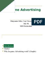 In Game Advertising