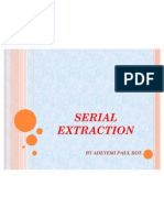 Serial Extraction
