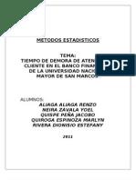 METODOS ESTADISTICOS - ENCUESTA