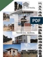 En Low Cost Housing Ethiopia Technical Manual I