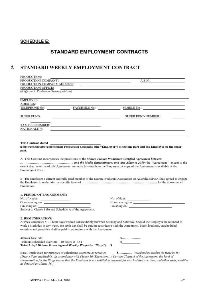 Filmtvcrew Alliance Contract Overtime Allergy