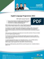 English Language Programmes 20121