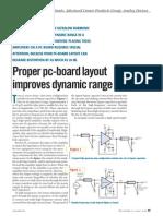 Proper PCB Layout